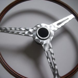 Lotus Elite Turned Steering Wheel