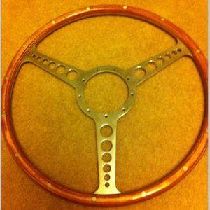Austin Healey Derrington Works Steering Wheel