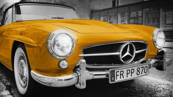classic car restoration at fahren autos, ilton, ilminster, somerset