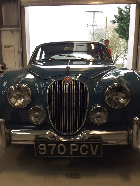 Jaguar MkII Restoration
